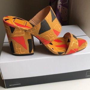 Dolce Vita - Patterned block heel